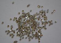 Камни Swarovski кристалл (Crystal) (размер #4) - 100 штук