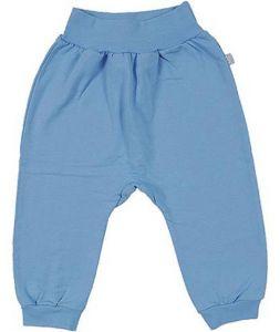 Синие теплые штаны для мальчика
