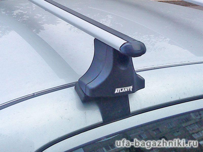Багажник на крышу Toyota Corolla 2006-13, Атлант, аэродинамические дуги