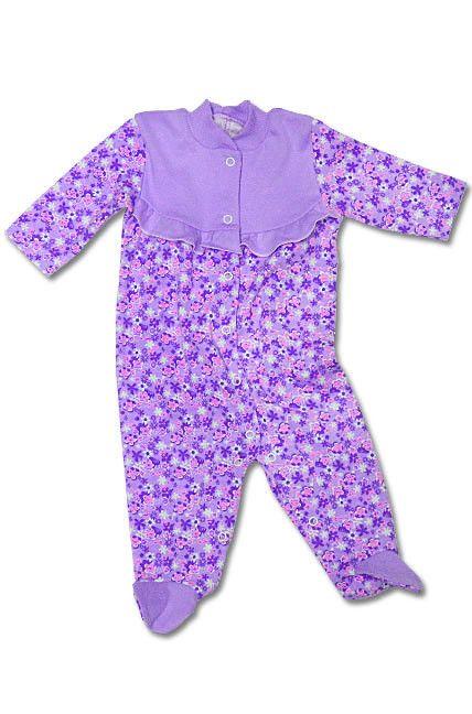 Комбинезон для девочки фиолетовый