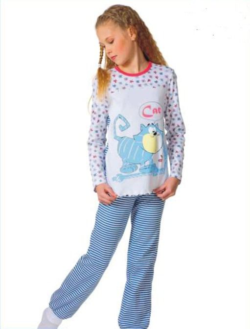 Пижама для девочки Cat