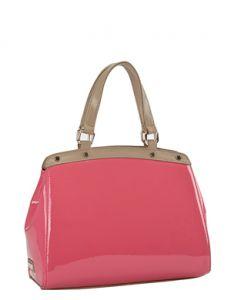 Розовая итальянская сумка