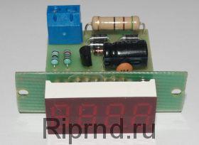 Частотомер сетевого напряжения ЧС-036