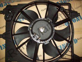 Вентилятор охлаждения в сборе (Logan) Finord FN-9269 на авто с кондиционером  аналог 6001550769