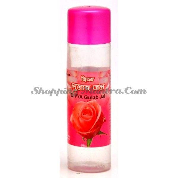 Розовая вода Патанджали Аюрведа (Divya Patanjali Gulab Jaal/Rose Water)