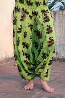 Индийские штаны со слонами, 300 руб., купить в интернет-магазине