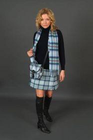 шарф 100% шерсть , расцветка Диана, принцесса Уэльская