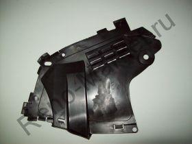 Защита бампера переднего левая (Logan 10-)  аналог 6001549324