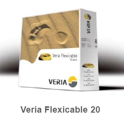 Двухжильный нагревательный кабель для теплого пола Veria Flexicable-20 1886вт  90 м