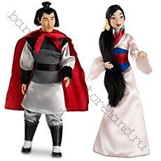 Кукла Мулан, Ли Чанг.  Дисней