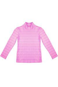 Розовый блестящий жемпер для девочки