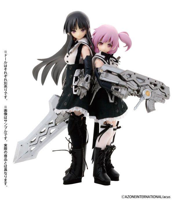 Куклы Yuyu Shirai&Riri Hitotsuyanagi