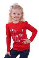 Красная кофточка для девочки Любимая игрушка