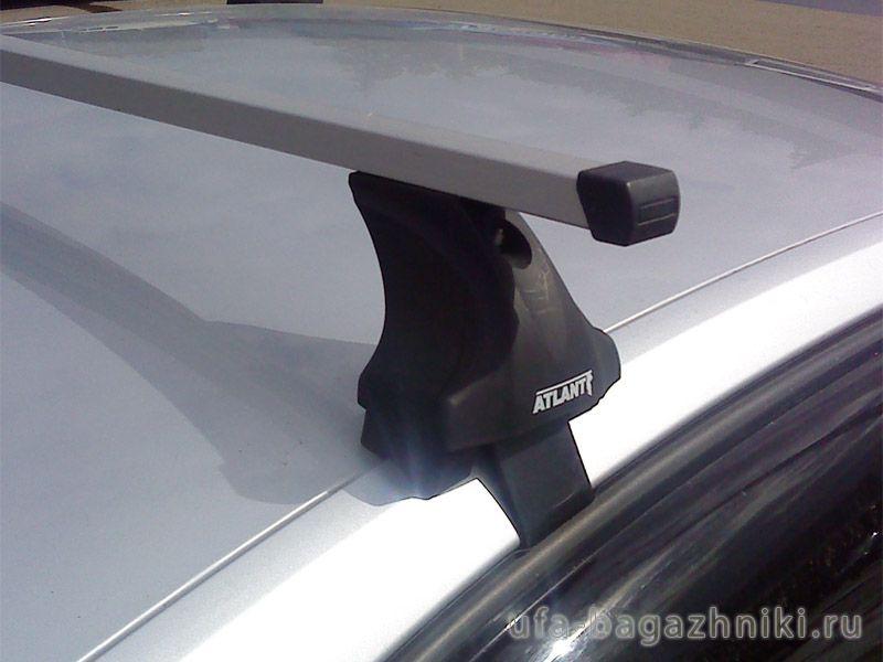Багажник на крышу Volkswagen Jetta A6, Атлант, прямоугольные дуги