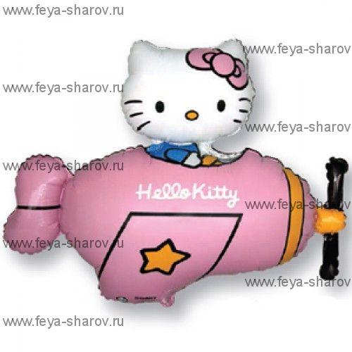 Шар фольгированный Hello kitty 104 см