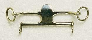 Трензелька MC KERRON, 12.5 мм.