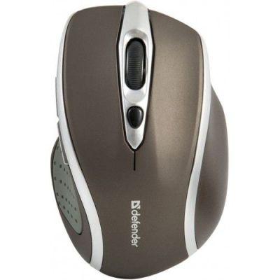 Беспроводная оптическая мышь Safari MM-675 коричневый,6кнопок,800-1600dpi
