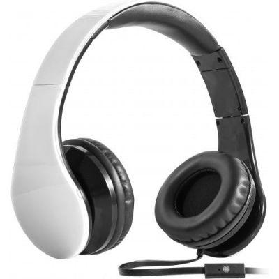Гарнитура для смартфонов Accord HN-047 белый, кабель 1,2 м