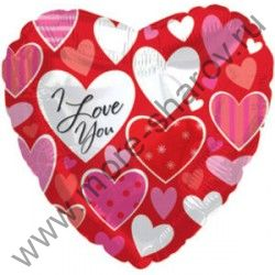 Шар Маленькие сердечки 46 см