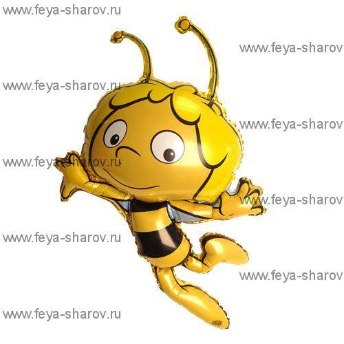 Шар фольгированный Пчелка Майя 90 см
