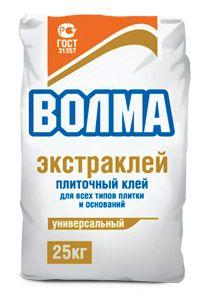 ВОЛМА ЭКСТРАКЛЕЙ - клей плиточный (25 кг)