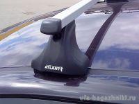 Багажник на крышу Mazda 3 (BK) 2003-09, Атлант, прямоугольные дуги, опора E
