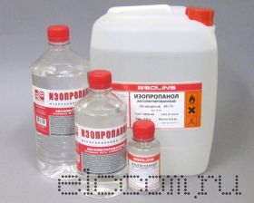 Cпирт изопропиловый абсолютированный, ПЭ канистра 5,0л (4,0кг)
