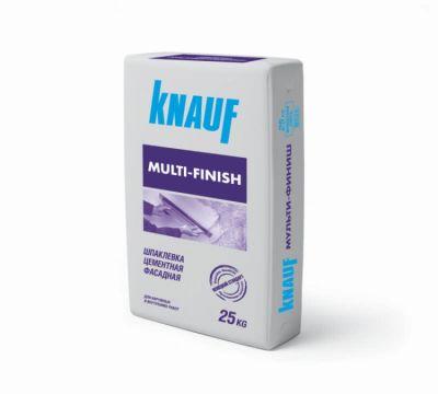 КНАУФ Мульти-финиш. Шпаклевка цементная фасадная (25 кг)