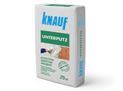 КНАУФ Унтерпутц- штукатурка цементная (25 кг)