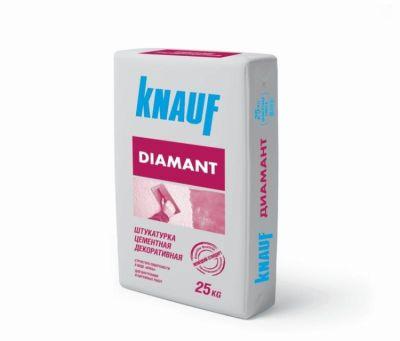 КНАУФ ДИАМАНТ- штукатурка цементная декоративная (25 кг)