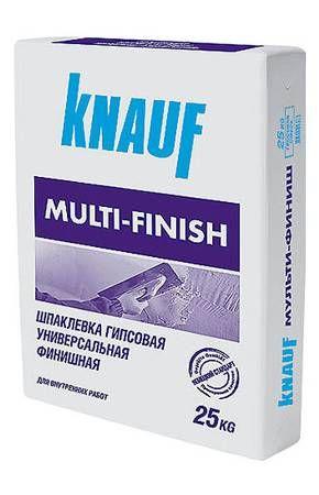 КНАУФ Мульти-финиш шпаклевка гипсовая финишная (25 кг)