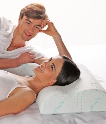 Ортопедическая подушка Trelax Respecta с эффектом памяти.