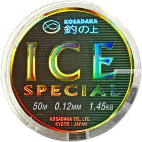 Купить Леска Kosadaka Ice Special зимняя 50 метров