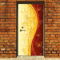 Наклейка на дверь - Роскошь 4 | магазин Интерьерные наклейки