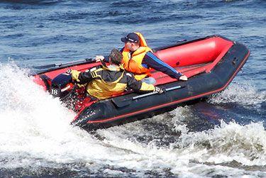 Лодка с надувным дном Air Line 450 (НДНД)