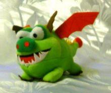 Дракончик Зубастик (зеленый)
