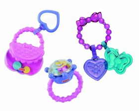Набор погремушек Подарочный для девочек, FISHER-PRICE