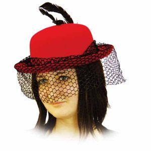 """Шляпа """"Дама с вуалью"""""""
