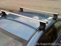 Багажник на крышу Honda Civic, Атлант, аэродинамические дуги
