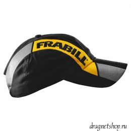 Бейсболка FRABILL BASEBALL HAT WITH STRIPE, черная с полосой (#7600)