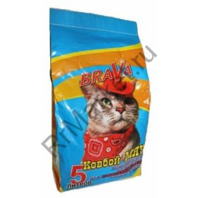Brava (Брава) Ковбой Мяу для гладкошёрстных кошек