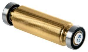 Медный ролик с левой винтовой структурой 1,5 мм для накатки T0423