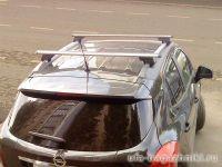 Багажники на крышу Opel Mokka, аэродинамические дуги на рейлинги Атлант