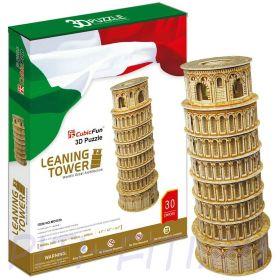 CubicFun. 3D пазлы. Башенки. Пизанская башня