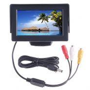 """4.3"""" TFT LCD автомобильный монитор DVD VCR"""