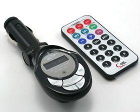 Автомобильный беспроводной MP3-плеер + FM-модулятор