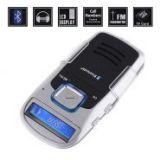 Bluetooth, MP3 плеер, Handsfree на солнечной батарее