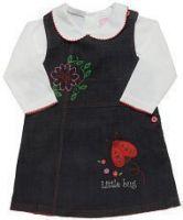 Комплект для девочки из сарафана и блузки
