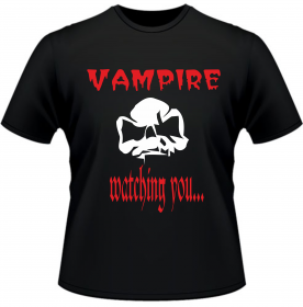 Вампир смотрит на тебя