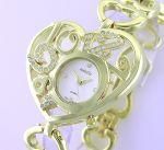 Стильные женские часы Isabelle со стразами